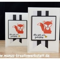 Foxy Friends, Fuchsstanze, Stampin'Up!
