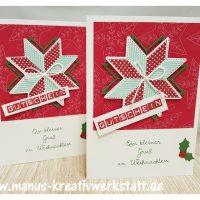 Weihnachtsquilt, Quilt, Stampin'Up!, Gutschein