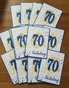 Geburtstagseinladungskarte