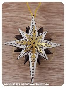 Weihnachtsstern, Sternenzauber, Stampin'Up!