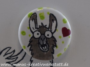 Lama, Stampin'Up!, Button