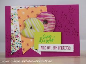 perfekter Geburtstag, perfekte Party, Stampin'Up! Geburtstagskarte