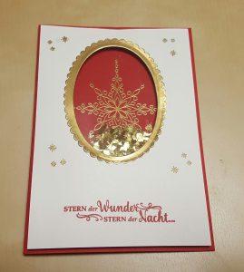 Schüttelkarte Weihnachten