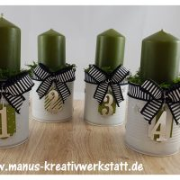 Adventskranz Stampin'Up!