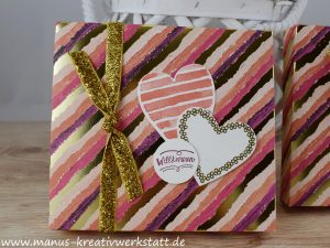 Heart Happiness, Teamzuwachs, Gemalt mit Liebe, Stampin'Up
