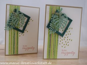 Tropenflair, Palmengarten, Stampin Up!