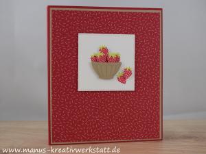 Freche Früchtchen, Tutti Frutti, Mini-Album, Stampin Up!