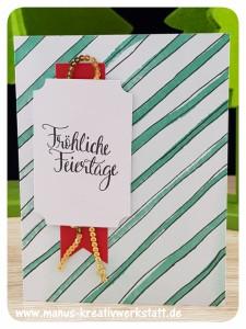 Malerische Weihnachten, Stampin'Up!