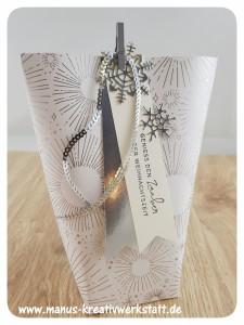 Box in a Bag, Winterfreuden, Stanze Blätterzweig, Aus jeder Jahreszeit, Weihnachten daheim, Stampin'Up!