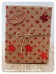 Weihnachtliche Etiketten, Sternenstanze, IttyBitty Sternenstanze, Stampin'Up