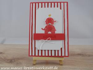 Elefantastisch, Stampin Up
