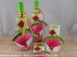 Wassermelone, Stickmuster, Wunderbar, einfach Wunderbar, Stampin'Up!