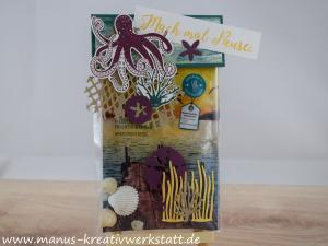 Glück und Meer, Unter dem Meer, Stampin'Up!, Badesalz, Geschenkverpackung, Jahr voller Farben