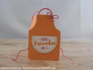 Kittelkreationen, Schürze, Stampin'Up!, BlogHop