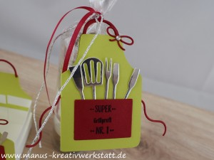 Kittelkreationen, Schürze, Stampin'Up!, BlogHop