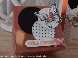 Schmetterlingsgruß, Schmetterlingsduett, Stampin Up, Create & Share