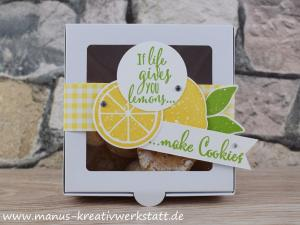 Lemon Zest, Aus der Kreativwerkstatt, Elementstanze Zitrone, Stampin Up