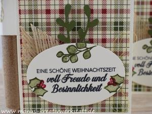 Hüttenromantik, Besinnlicher Advent, Bratapfelgewürz, Zierzweig, Stampin UP