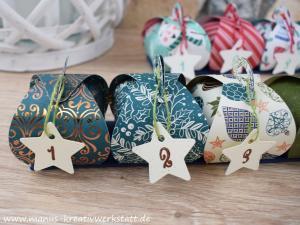 Adventskranz, Im schönsten Glanz, Weihnachtliche Vielfalt, Frohe Feiertage, Stampin'Up!, Aus der Kreativwerkstatt