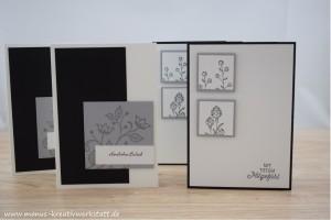 Flowering Fields, Blühende Worte, kleine Wünsche, Stampin'Up!, Trauerkarten