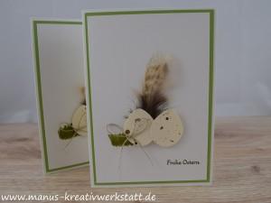 Ostern, Luftballonstanze, Stampin'Up!, kleine Wünsche
